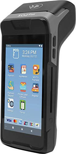 myPOS Carbon - Datáfono Inteligente Duradero con Impresora   Android 9.0   Resistente al Polvo, a los Golpes y al Agua