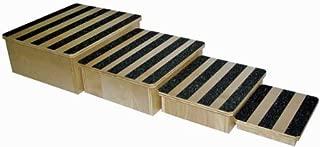 Nested Foot Stools, Set of 4, 250 Lb. Capacity, Birch Wood