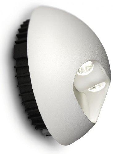 Philips Ledino Applique Eclairage de Mur 2 x 25 W Blanc