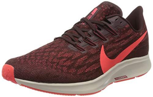 Nike Men's Air Zoom Pegasus 36 Running Shoes, Multicolour (Mahogany/BRT Crimson/Cedar/Desert Sand 200), 8.5 UK