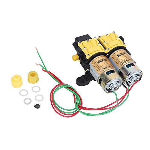 Membranpumpe - Die langlebige elektrische Hochleistungs-Wasserpumpe aus Stahlguss mit zwei Ventilatoren ist für Autowaschmaschinen usw. Geeignet