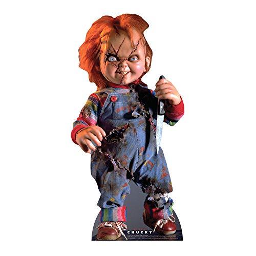 STAR CUTOUTS SC1316 Scarred Chucky Jeu d'enfant pour Halloween, Amis et Fans
