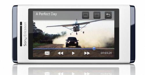 Sony Ericsson Aino Classic Edition Handy (7,6cm (3 Zoll) TFT-Display, Touchscreen, 8,1 Megapixel Kamera) weiß