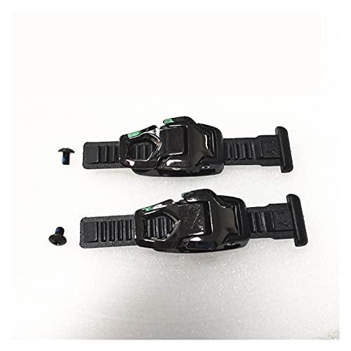 CML 12 cm en línea Patines de Velocidad Hebilla Zapatos de Patinaje Hebilla FRM 120mm Hebilla en línea Skate Reemplazo Strap Skate Correa 1 par (Color : 2 Sets model2)
