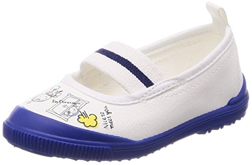 [ムーンスター] 上履き 日本製 ドラえもん 14~19cm 男の子 女の子 キッズ DRMバレー01 ネイビー 18.0 cm 2E