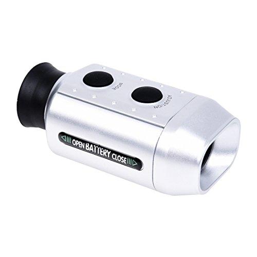 CUHAWUDBA Pocket Digital 7X Golf Entfernungsmesser Golfer Zielfernrohr mit Tasche