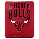 Northwest NBA Chicago Bulls 50x60 Fleece Layup DesignBlanket, Team Colors, One Size