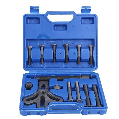 Lenkradabzieher-Kit 13-teiliges Schwungrad-Abzieher-Entfernungsgerät Harmonic Balancer Zahnrad-Riemenscheibe Autoreparaturwerkzeug