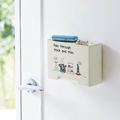 [ベルメゾン]ディズニーマスクケースマグネット収納ケース・ボックス玄関ドアに貼って使える
