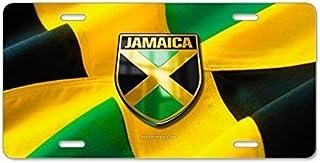 Jamaica–Placa de Licencia de aluminio, frontal Placa de Licencia 12.5x 6.5inches por 88boydbertha