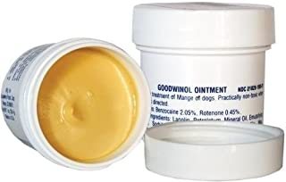 Ointment Goodwinol Jar Follicular Red Mange Dogs Apply Daily See Results, 1-oz