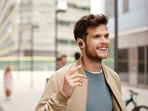 Sony WF-1000XM3 Industry Leading Active Noise Cancellation True Wireless (TWS) Bluetooth 5.0 Earbuds with 32hr Battery Life, Alexa Voice Control & mic for Phone Calls Suitable for Workout, WFH (Black)