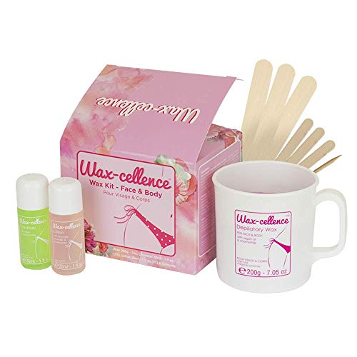 Lycon Wax cellence waxing kit for face and body