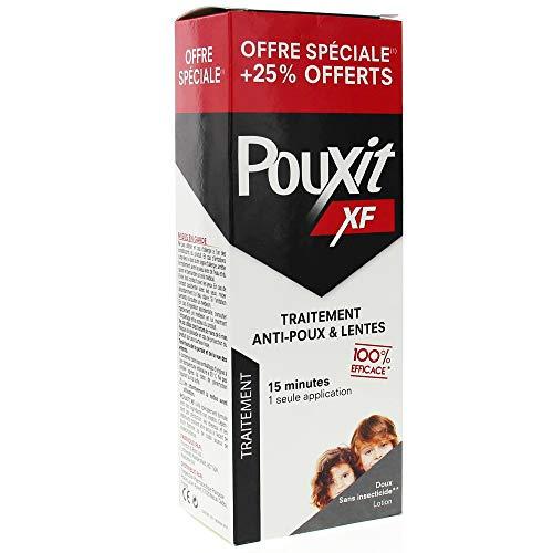 avis anti poux professionnel Pouxit XF pour 250 ml de poux et nito