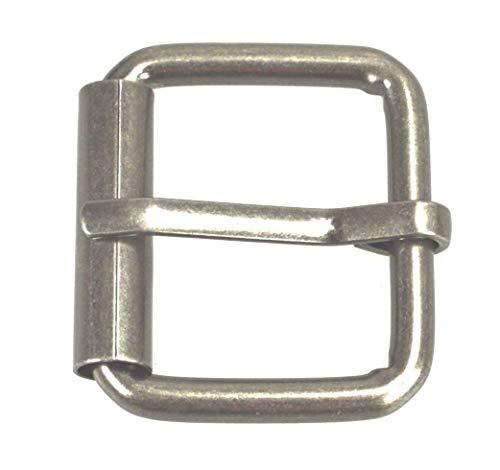 flevado Gürtelschnalle Vintage antik Buckle 4 cm Metall Dornschließe für Gürtel mit 4 cm Breite...