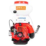 Wareka 3.5 Gallon Backpack Sprayer-Heavy Duty Commercial Sprayer, 3-in-1 Duster Machine/Leaf Blower, 65CC 3HP 2 Stroke Engine, Effectively Control P-e-s-ts in Orchards, Homes, and Farms (Red)