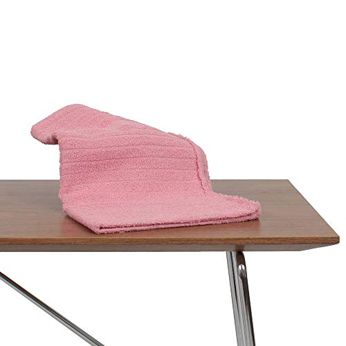 Kit 60 Toalha de Rosto Premium para Salao de Beleza, Spas, Clinicas Rosa