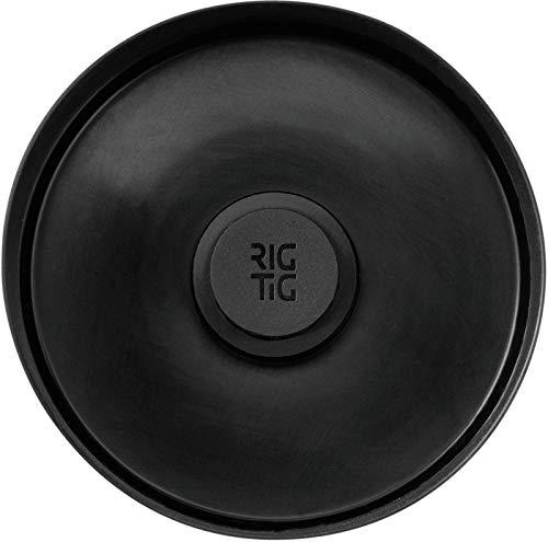 RIG-TIG by Stelton, Kunststoff mit Magnet, Schwarz, 8.3 cm