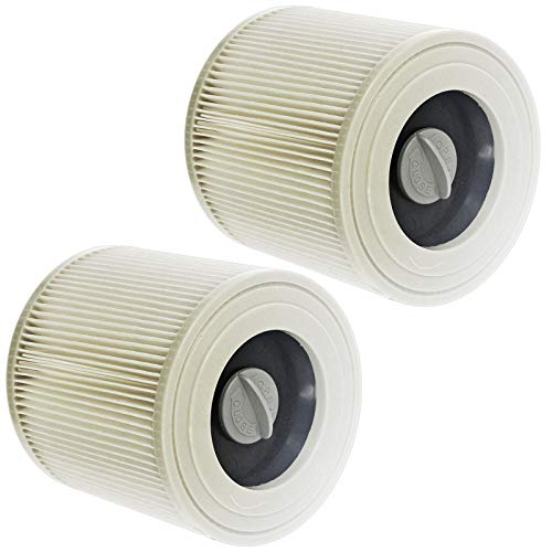 Spares2go - Cartucce filtranti per aspirapolvere Karcher WD2 WD3 WD3P Wet & Dry (confezione da 2)