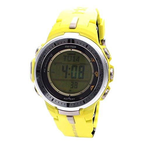 Casio Herren Watch Pro Trek Reloj (Modelo de Asia) PRW-3000-9B