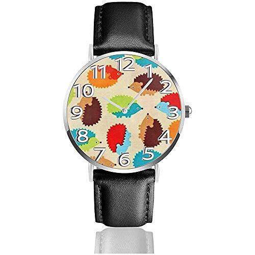 Uhr Armbanduhr nlY ~ Classic Casual Quartz Watch Uhren für Männer Frauen