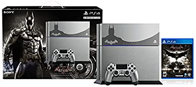 PlayStation 4 500GB Console - Batman Arkham Knight Bundle Limited Edition[Discontinued]