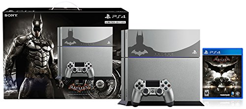 PlayStation 4 500GB Console - Batman Arkham Knight Bundle Limited Edition[Discontinued] [video game]