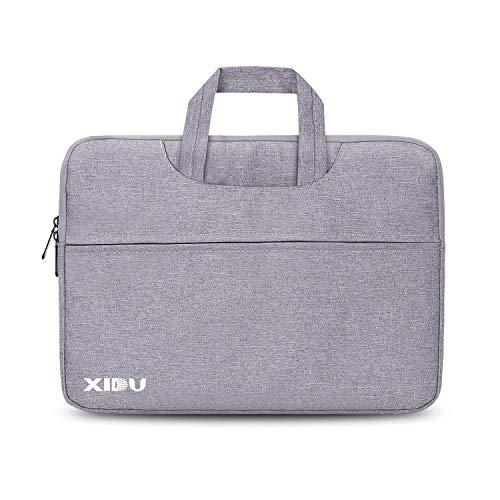 XIDU Sleeve Laptop Notebook Tablet, Custodia Impermeabile a Tasca per Notebook, Compatibile con 14 Pollici, 11,6 Pollici, 13,3 Pollici, MacBook PRO, MacBook Air, Surface PRO e Surface Laptop, Grigio