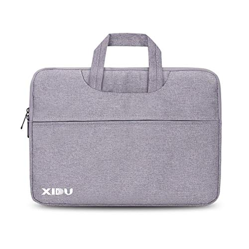 XIDU Sleeve Laptop Notebook Tablet, Custodia Impermeabile a Tasca per Notebook, Compatibile con 14 Pollici, 11,6 Pollici, 13,3 Pollici, MacBook PRO, MacBook Air, Surface PRO e Surface Laptop, Grigio