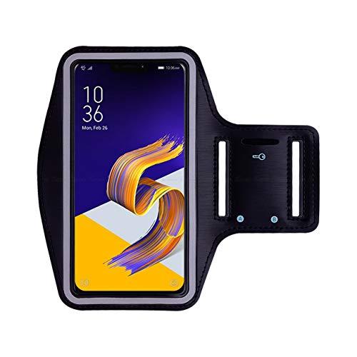 Soporte de la Caja del teléfono del Brazalete Deportivo Running Gym Training Estuche con Ranura para Llaves de Banda elástica Ajustable Motorola G4 Plus 5.5'