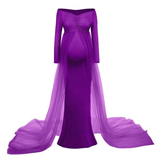 Vestido de maternidad, vestido de embarazo, elegante, accesorio para fotografía, para mujer,...
