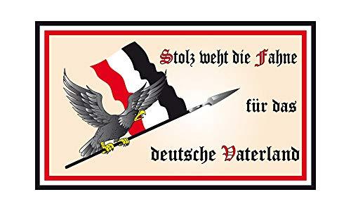 DH 49 - Deutschland Flagge - Stolz weht die Fahne 90 x 150cm
