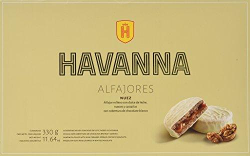 Havanna Alfajores de Nuez - 330 gr
