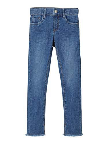 NAME IT Girl Jeans Cropped Skinny Fit 146Medium Blue Denim