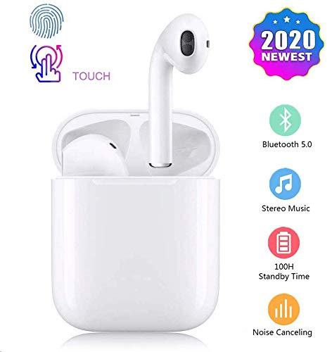 Auricolare Bluetooth, Auricolare Wireless in-Ear,Auricolare Stereo Wireless 3D ad Alta Definizione...