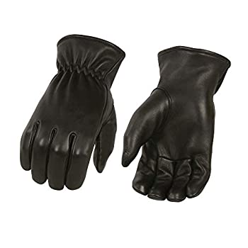 Men s Unlined Deerskin Gloves w/Cinch Wrist - 100% USA Northern Deer  XXX-Large