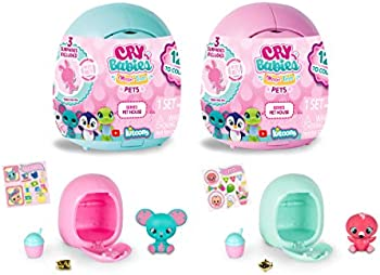 2-Pack Cry Babies Magic Tears Pet House