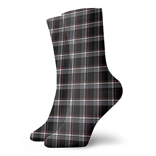 flys Golf Gti Plaid Casual Fashion Crew socks Casual Funny For sports boot hiking running etc.