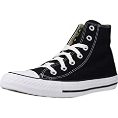 Shoes availavble are in UK sizes. Refer size chart for US size conversion Lace-up, high-top sneaker OrthoLite insole for cushioning Medial eyelets for airflow Canvas upper
