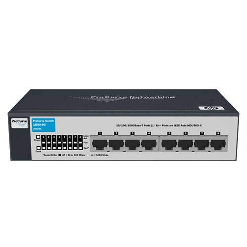 HP ProCurve Switch 1800-8G - Switch de red (100 Mb