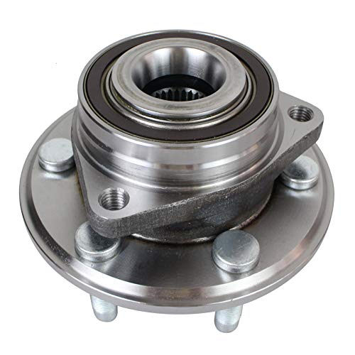 PAROD 513289 Front Rear Wheel Hub and Bearing Assembly Compatible with 2010-2016 Cadillac SRX, 2011 Saab 9-4X 6lugs w/Encoder ABS