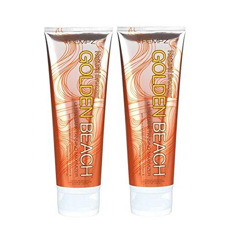 Golden Beach Natural Bronzer Maximizer Tanning Lotion (2 PACK)