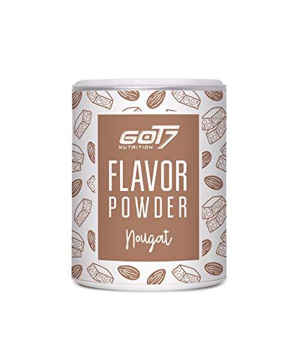 Got7 Flavorpulver - Geschmackspulver - Kalorienreduziertes Aroma zum verfeinern von deinen Gerichten (Nougat, 150g)