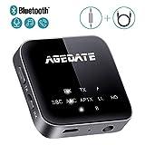 Bluetooth Adapter 5.0 AUX Audio Transmitter Empfänger HiFi Sender Receivier 2 IN 1...
