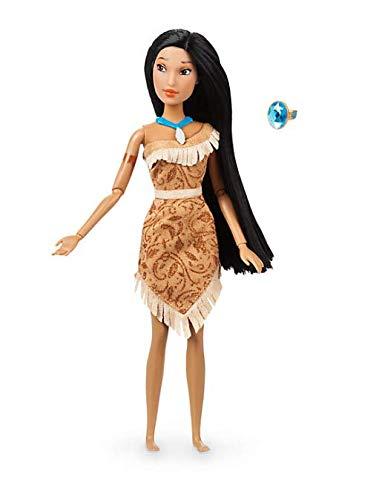 Offizielle Disney Pocahontas 30cm Klassische Puppe mit Ring