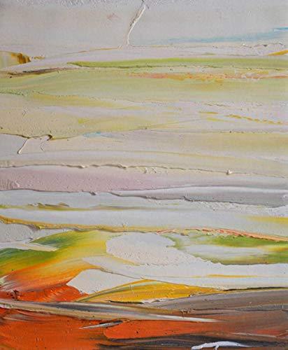 Pittura Ad Olio Dipinto A Mano Su Tela,Quadro Astratto Dipinto A Mano, Lago Di Mare Naturale, Tavolozza Grande Murale Pop Art Murale, Galleria Camera Da Letto Soggiorno Decorazione Murale, 110 × 170