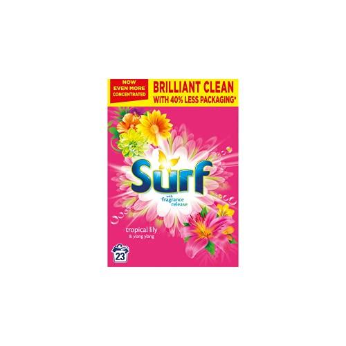 Surf Washing Powder, Tropical Lily & Ylang-Ylang , 23 Washes