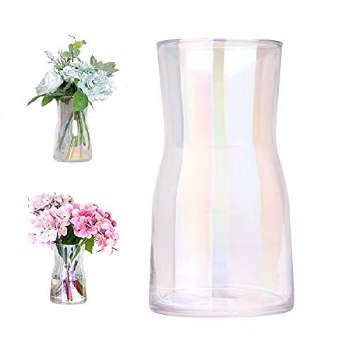 Jarrones Grandes De Cristal Transparente jarrones grandes  Marca Hileyu