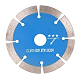 Tivivose 114 * 1,8 * 20 mm de Diamante Sierra segmento de Corte Poco seco de refrigeración con un diámetro Interior de los Agujeros de Corte de Piedra 20 mm (Color : Blue)