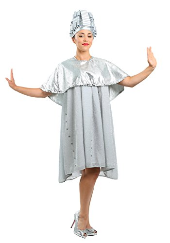 Grease Beauty School Dropout Plus Size Costume 2X Silver